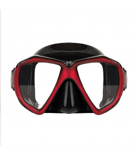 MASK - 170 - BLACK/RED - TWO LENS W/ BOX
