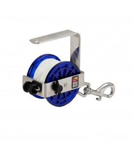 Dive Rite CLASSIC SAFETY REEL W/ SHACKLE SNAP